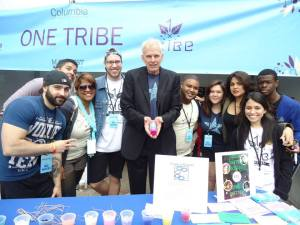 Columbia College Chicago Manifest 2013. One Tribe table