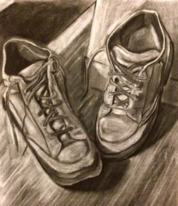 Shoes. Charcoal 18