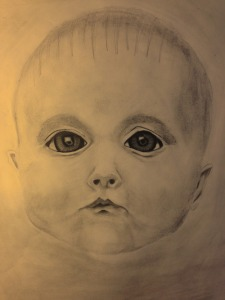 Dominick. Charcoal 18